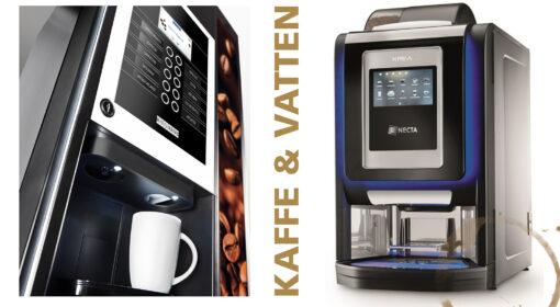 Vi har kaffeautomater från Wittenborg & Necta