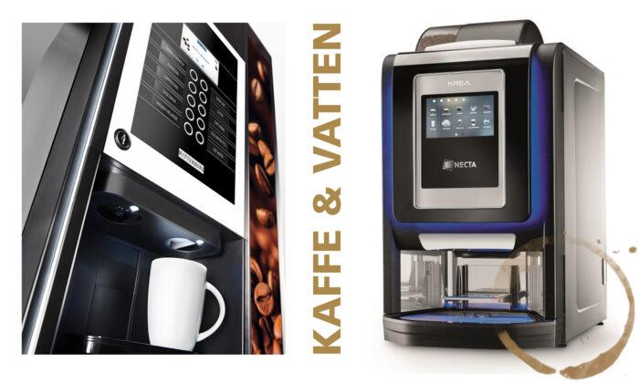 Kaffeautomater från Wittenborg och Necta