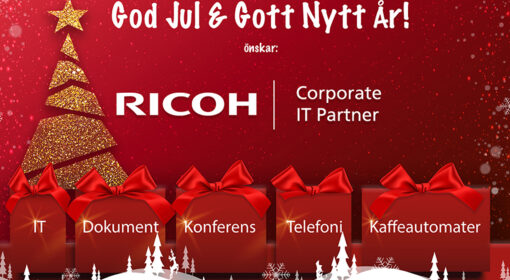 Ricoh IT Partner önskar God Jul & Gott Nytt År